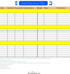 4 Free SMART Goal Setting Worksheets and Templates [ 819 x 1024 Pixel ]