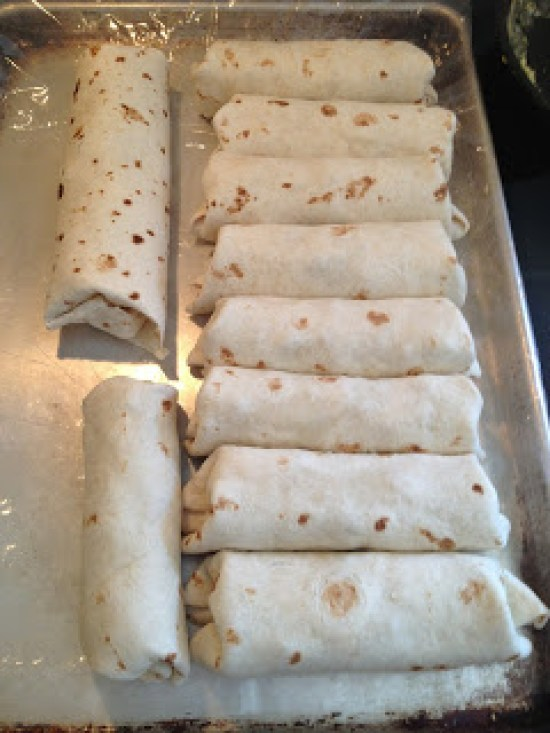 Stop skipping breakfast and use this freezer meals for two favorite Egg & Sausage Burritos.