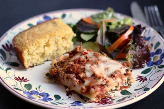 Need freezer meals to last a month? Make some Homemade Lasagna.