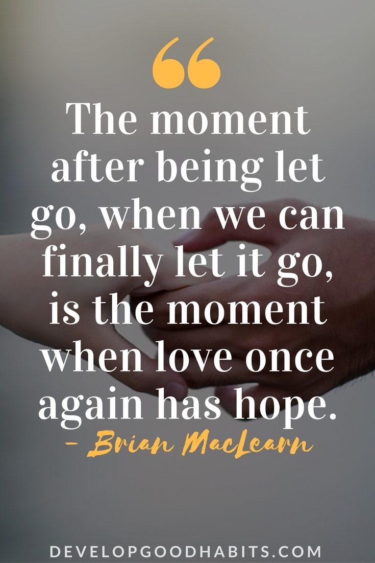 Quotes About Letting Go Of Love   Letting Go Quotes   Love Quotes    Profound Quotes. U201c