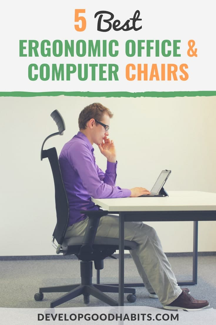 best computer chair for back fishing chairs 5 ergonomic office and our review 2018 use the on amazon to prevent pain posture