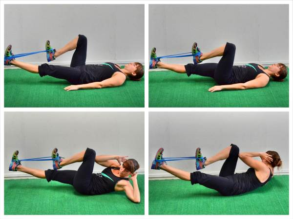 32 Resistance Band Workouts for Lower Body Arms Legs ...