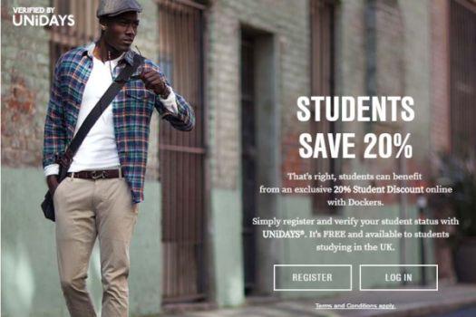 Dockers Student Deals & Discounts