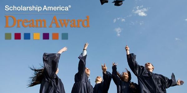 Scholarship America's Dream Award for High School and Undergraduates