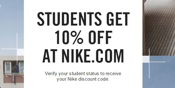 10% Off For Students. Want a student discount for Nike? You can get one here, and you don't need any coupon! Just click here to save 10% when you verify your student status on hocalinkz1.ga; you'll get sent a discount promo code, which you can use to save!