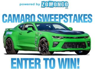 """Powered by ZOMONGO"" Sweepstakes"