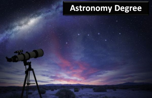 Astronomy Degree