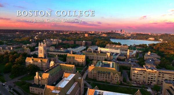 Boston College Ranking