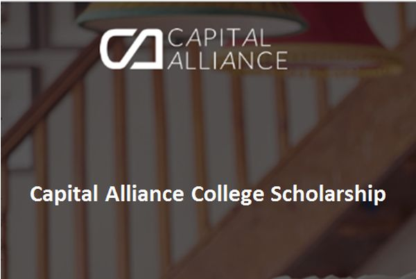 Capital Alliance College Scholarship