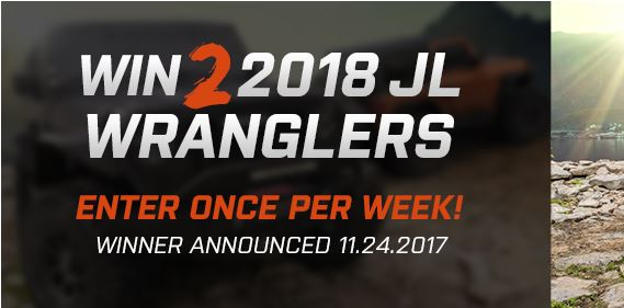 His And Hers Jl Wrangler Giveaway Sweepstakes