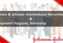 IRDP MBA International Recruitment and Development Internship Program