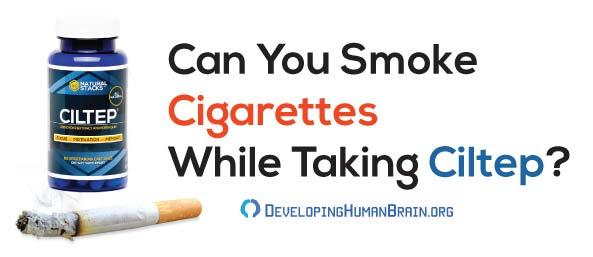 ciltep and nicotine