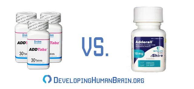 addtabz vs adderall