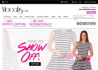 Mocahs-Shopping woocommerce website