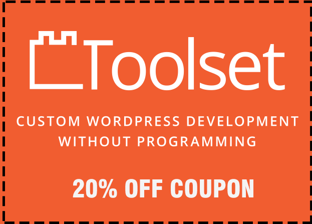Get 20% off on all toolset plans