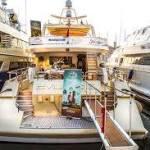 Location d'un yacht à quai pour le Festival de Cannes