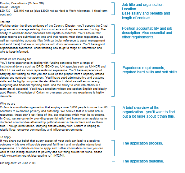 Help Applying For Development Jobs