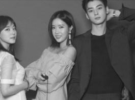 Jo Woori - Im Soo Hyang - Cha Eun Woo - MY ID Is Gangnam Beauty (Sumber : Soompi.Com)