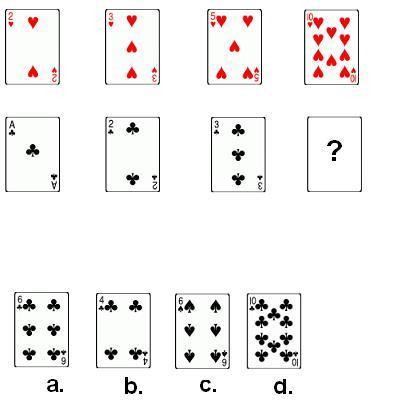 CONCOURS QCM LOGIQUE TESTS CARTES 2 CORRECTION