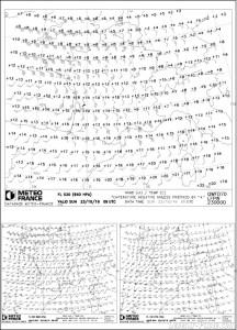 Carte météo WINTEM