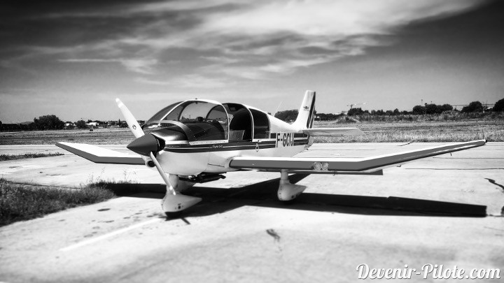 DR400 F-GCIJ à Montpellier (LFMT)