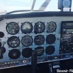 Tableau de bord du DR400 F-GCIJ à l'aéroclub de Montpellier