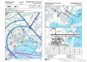 Carte d'approche (VAC) de Montpellier (LFMT)