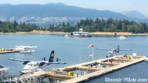 "Hydravion ""Harbor Air Seaplanes"" à Vancouver Canada"