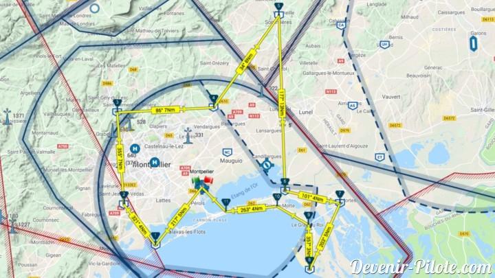 Vol Local Autour De La Ctr De Montpellier Lfmt Jour 37 Devenir