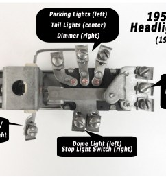 headlight dimmer switch wiring on 1950 plymouth headlight switch 1950 chevy headlight switch wiring diagram wiring [ 3272 x 1984 Pixel ]
