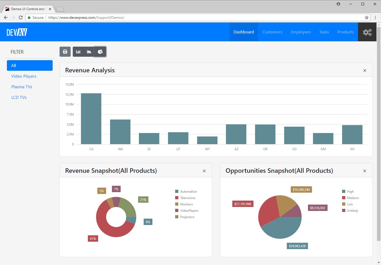 ASP.NET Bootstrap Controls - Web UI | DevExpress