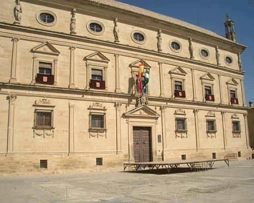 El espectacular Palacio de las Cadenas de Úbeda