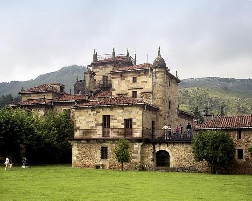 Palacio de Elsedo, en Somarriba