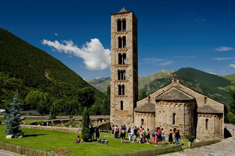 Iglesias románicas del Valle de Boi