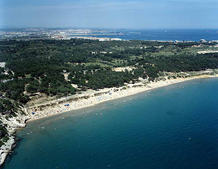 Playa Larga en Tarragona
