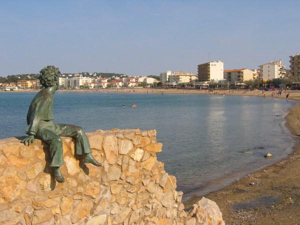 La turistica localidad de L'Escala en Girona
