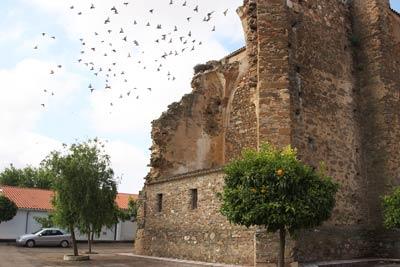 De paseo por Acedera en Badajoz