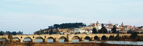 El Puente de Palmas, Badajoz