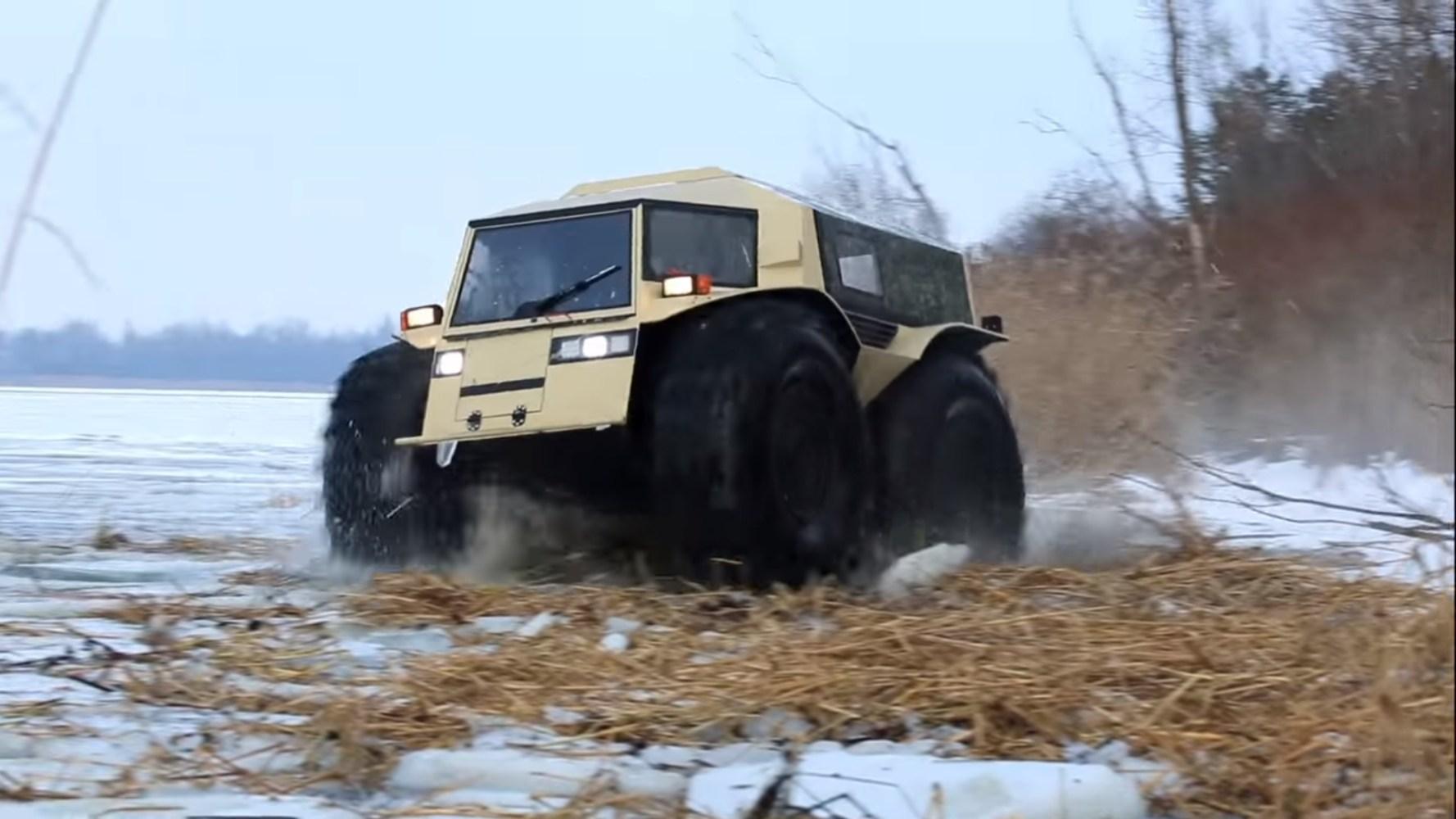 Russos criam veículo perfeito para o apocalipse