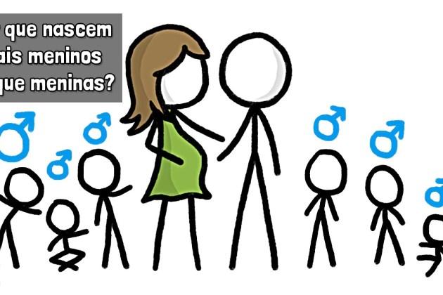 Minuto da Terra: Por que nascem mais meninos do que meninas?