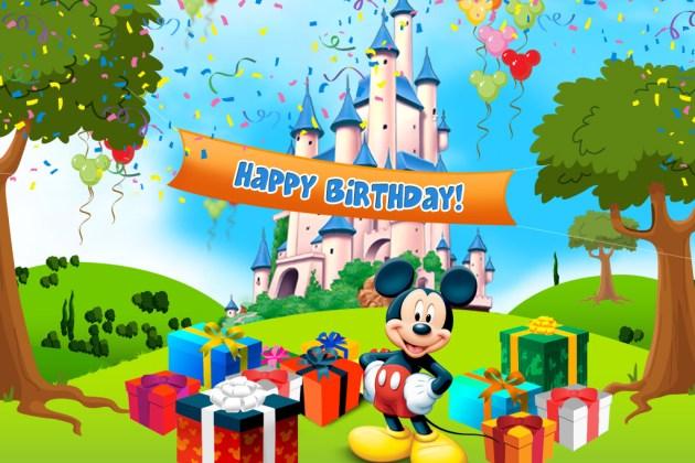 Miscelânea – Feliz Mickey-Aniversário