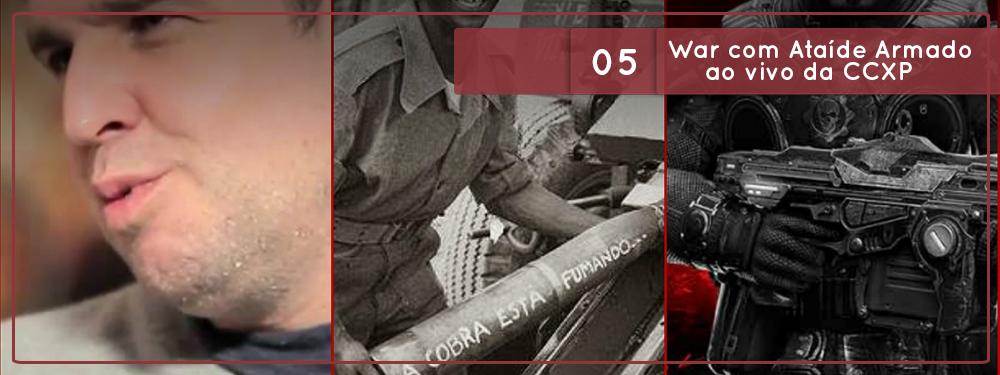 República Deviante #05: War com Ataíde Armado ao vivo da CCXP