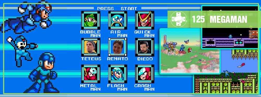 MeiaLuaCast #125: Megaman