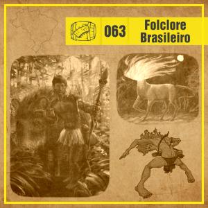 Vitrine Costelas e Hidromel sobre Folclore Brasileiro