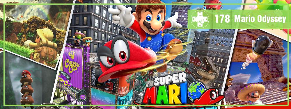 MeiaLuaCast #178: Mario Odyssey