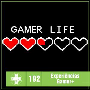 Vitrine MeiaLuaCast sobre experiências gamer