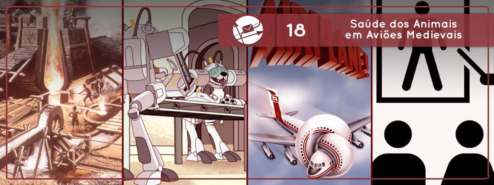 Derivadas #18: Saúde dos Animais em Aviões Medievais