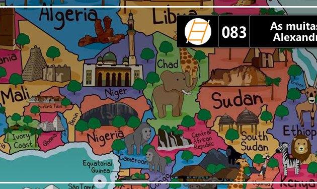 Chute 083 – As muitas Áfricas, com Alexandre dos Santos