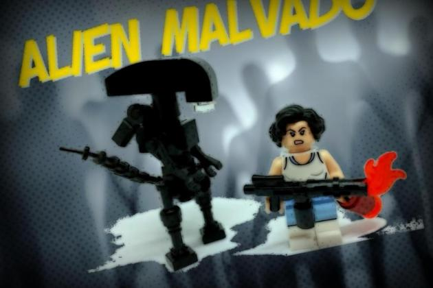 Extraterrestre Bonzinho vs Alienígena Malvado – segunda parte