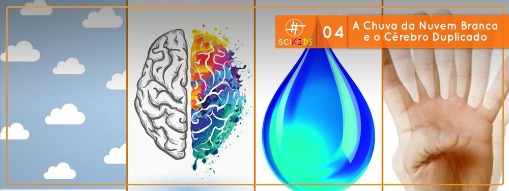 SciKids #04: A Chuva da Nuvem Branca e o Cérebro Duplicado